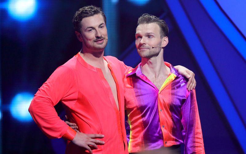 """Gute Nachrichten für den einstigen """"Prince Charming"""": Nicolas Puschmann (links) und sein Tanzpartner Vadim Garbuzov dürfen zu """"Let's Dance"""" zurückkehren!"""