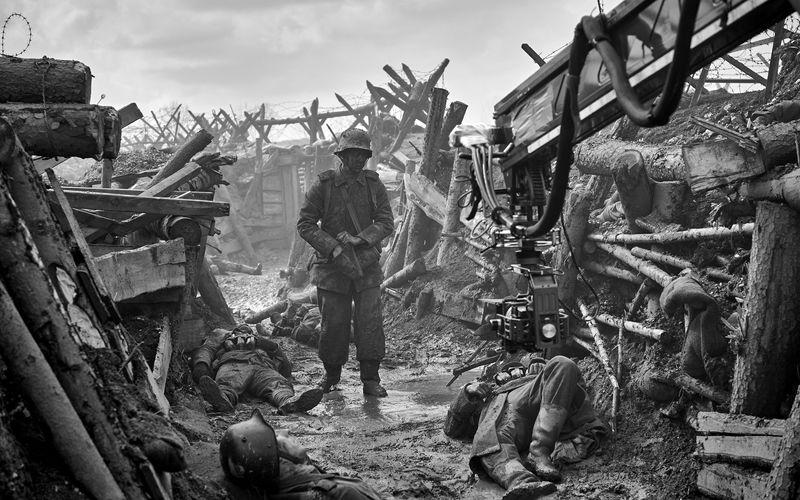 """Die Netflix-Produktion """"Im Westen nichts Neues"""" ist die erste deutsche Verfilmung des 1928 veröffentlichten Romans."""