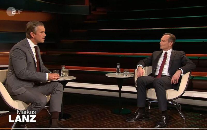 """Bei """"Markus Lanz"""" am Dienstag wurde der FDP in Person von Volker Wissing viel Platz eingeräumt. Mit Samthandschuhen wurde der eindeutig nicht angefasst."""