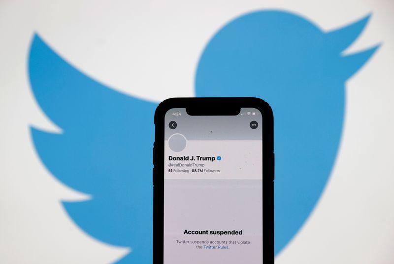 Am 8. Januar sperrte Twitter den Account von Donald Trump. Es war eine Reaktion auf die Stürmung des Kapitols in Washington durch Trump-Anhänger zwei Tage zuvor.