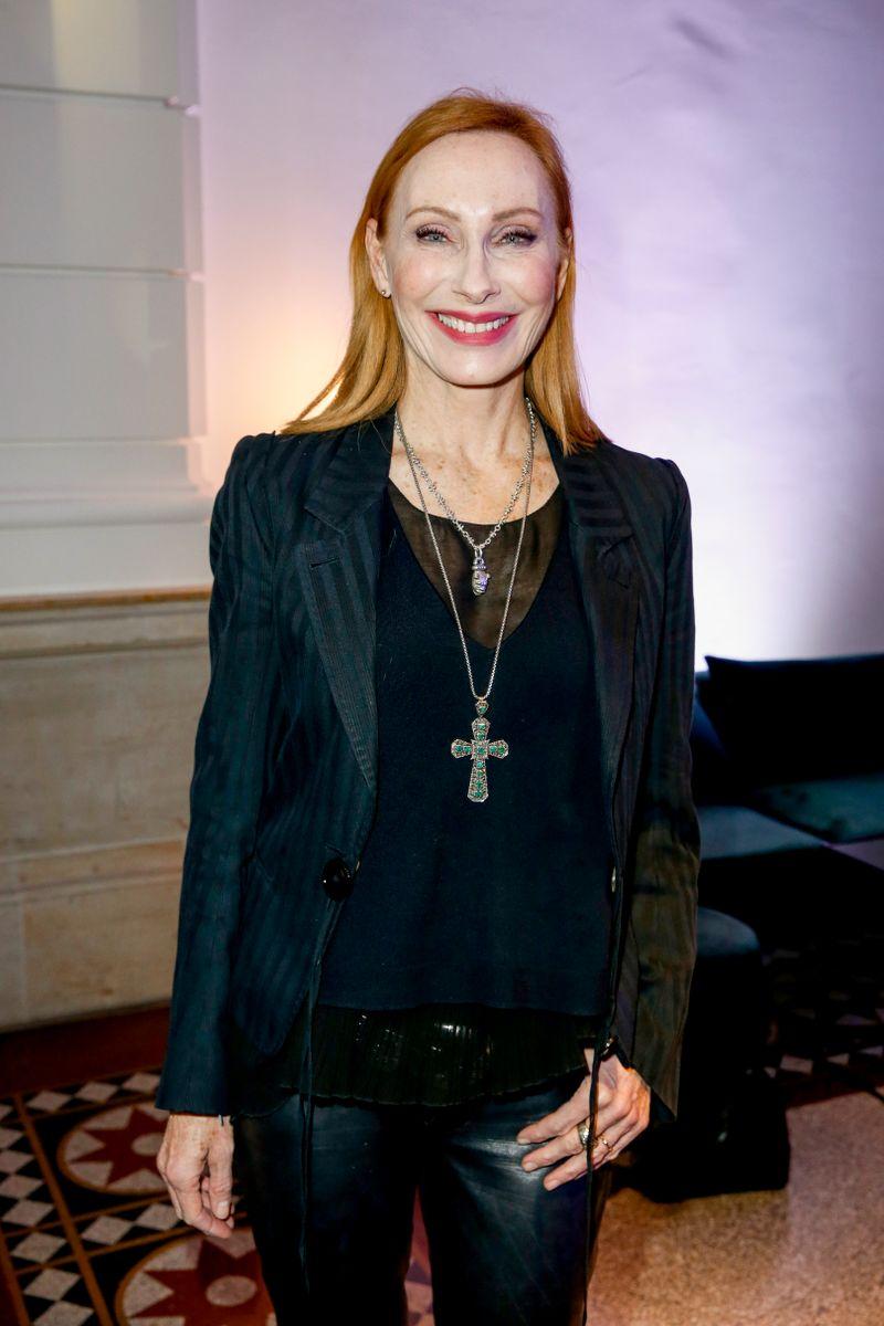 Schauspielerin Andrea Sawatzki überrascht bei Thomas Gottschalk nicht nur mit der ein oder anderen Anekdote ...