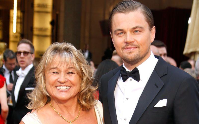 Stolz auf ihren einzigen Sohn: Irmelin DiCaprio (geborene Indenbirken) ist seit Jahren ein Stammgast auf roten Teppichen - hier begleitet sie ihren Leonardo zur Oscar-Verleihung 2014.