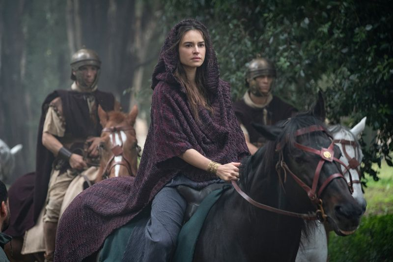 Livia Drusilla (Kasia Smutniak) beeinflusst als Gattin von Kaiser Augustus die Geschicke des Römischen Reiches.