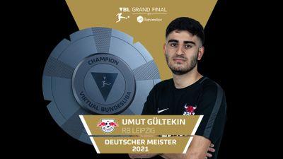"""Umut """"RBLZ_UMUT"""" Gültekin ist Deutscher Meister im Einzel der VBL"""