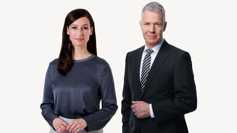 """Pinar Atalay und Peter Kloeppel werden RTL-Kollegen: Unter anderem moderieren sie gemeinsam das """"Wahl-Triell"""" der Kanzlerkandidaten."""