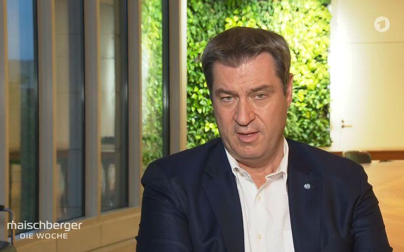 Bayerns Ministerpräsident Markus Söder bestritt vehement, vor der UEFA bei der Zuschauerfrage eingeknickt zu sein.