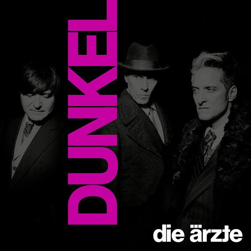 """19 neue Songs präsentieren Die Ärzte auf """"Dunkel"""", dem insgesamt 14. Studioalbum der Band."""