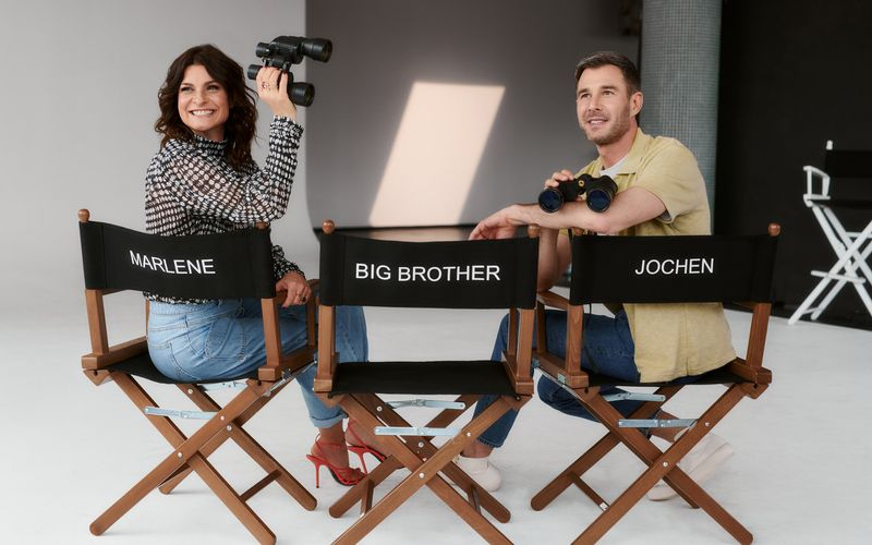 """Auch in diesem Jahr kehren Marlene Lufen und Jochen Schropp als Moderatoren zu """"Promi Big Brother"""" zurück."""
