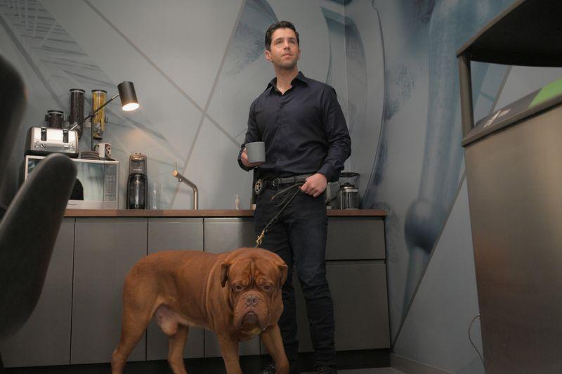Der ehrgeizige US-Marshal Scott Turner (Josh Peck) ist zunächst gar nicht begeistert, von nun an für den Hund seines Vaters sorgen zu müssen.