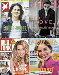 Stern, Vogue, Bild+Funk, Für Sie