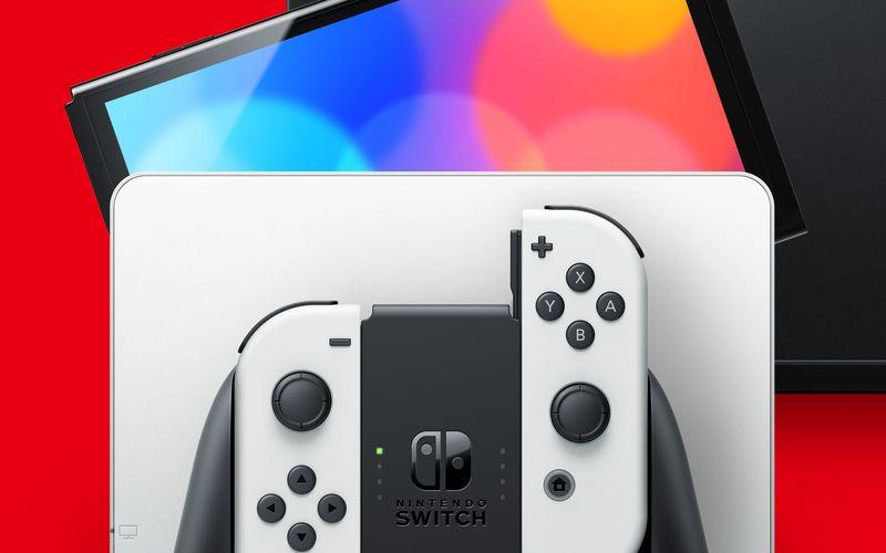 Nintendo kündigte die neue Switch OLED an.