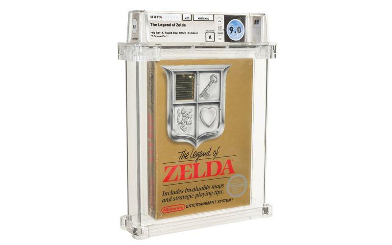 """Neuer Rekord: Diese Cartridge von """"The Legend of Zelda"""" wurde für 870.000 Dollar versteigert."""