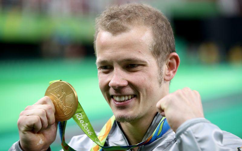 """2016 gewann Fabian Hambüchen in seinem letzten internationalen Wettkampf Olympia-Gold am Reck. """"Es war die Vollendung meiner Karriere"""", schwärmt der Ex-Turner."""
