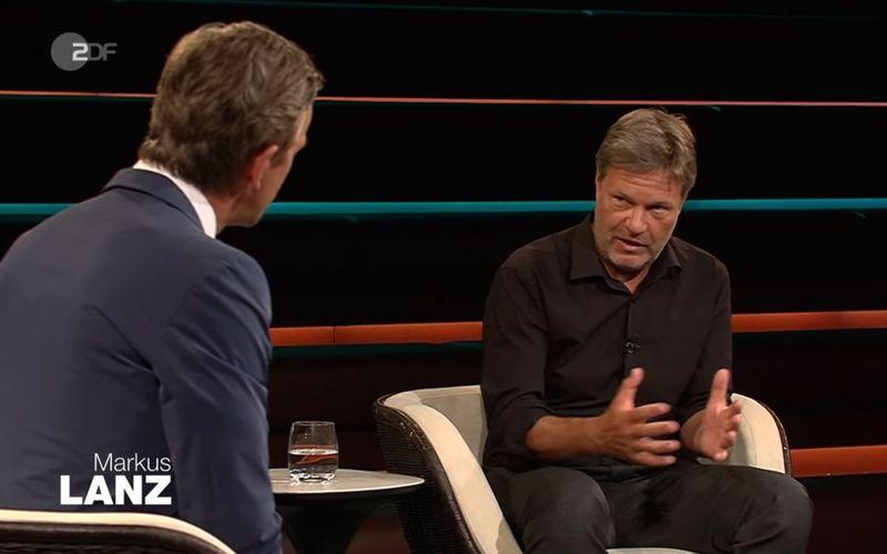 Bei Markus Lanz (links) bezog Robert Habeck Stellung zur Diskussion um das Buch von Annalena Baerbock und die Frage, wie die Grünen-Kampagne noch zu retten ist.