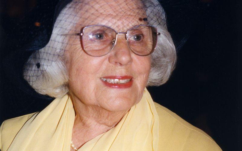 Im Alter von 109 Jahren gestorben: Renée Dorléac.