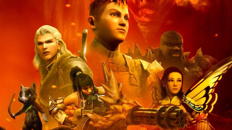 """Netflix hat ein Herz für Gamer: Am 12. August startet """"Monster Hunter: Legends of the Guild""""."""