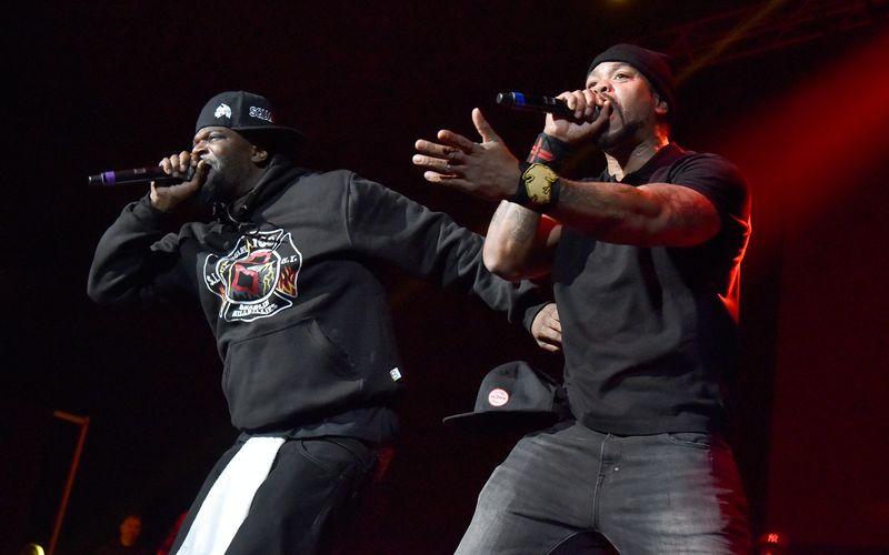 """Sechs Jahre lang saßen die Mitglieder des Wu-Tang Clan - unter anderem Cappadonna (links) und Method Man - am Doppelalbum """"Once Upon a Time in Shaolin"""". Es existiert nur ein Exemplar."""