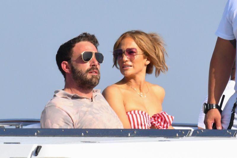 Turteltauben an der Amalfiküste: Ben Affleck und Jennifer Lopez machen derzeit gemeinsam Urlaub.
