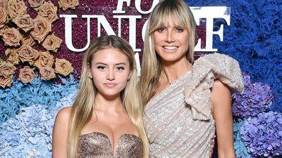 Leni und Heidi Klum