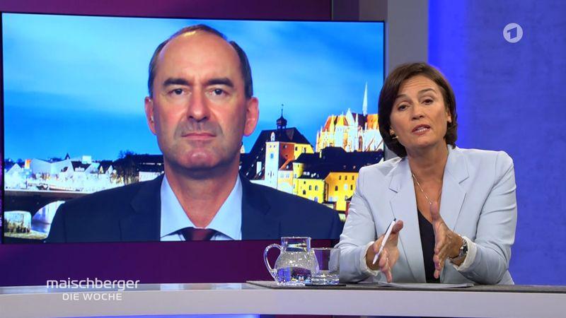 Im Gespräch mit Sandra Maischberger zeigte sich der stellvertretende bayerische Ministerpräsident Hubert Aiwanger vor allem defensiv.