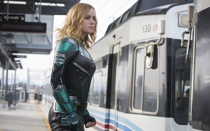 """Brie Larson erhielt 2016 den Oscar als beste Hauptdarstellerin in Lenny Abrahamsons Drama """"Raum"""" - und sie spielt die Titelrolle in """"Captain Marvel""""."""