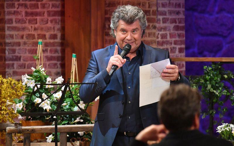 """Sein 40-jähriges Bühnenjubiläum feiert Andy Borg mit einer Spezialausgabe seiner Show """"Schlager-Spaß mit Andy Borg""""."""