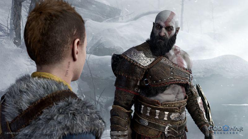 """Kratos und Sohn Atreus melden sich in """"God of War 2 Ragnarok"""" zurück."""