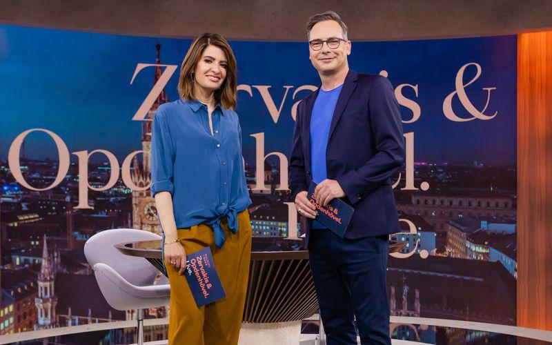 """Der Auftakt der neuen wöchentlichen Live-Sendung """"Zervakis & Opdenhövel. Live."""" mit Linda Zervakis und Matthias Opdenhövel erzielte nur schwache Einschaltquoten."""
