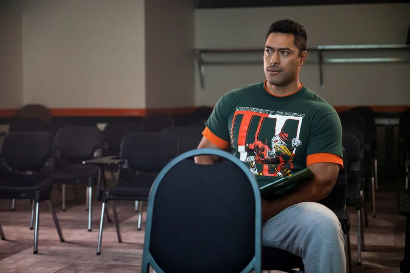 """Auch """"The Rock"""" (Uli Latukefu) hatte es an der Uni nicht immer leicht."""