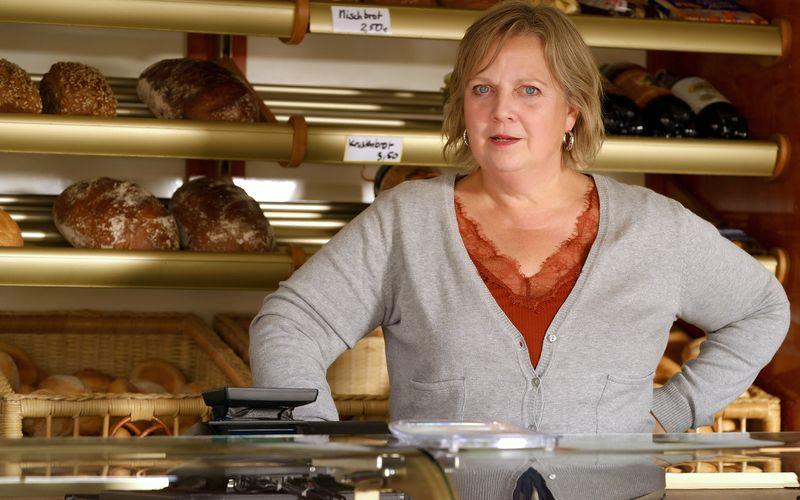 Eine neue Serienheldin in der ARD-Primetime am Mittwoch: Mit ihrem Bäckermobil versorgt Gabriela Maria Schmeide als Tina Sanftleben ganz Nordberlin.