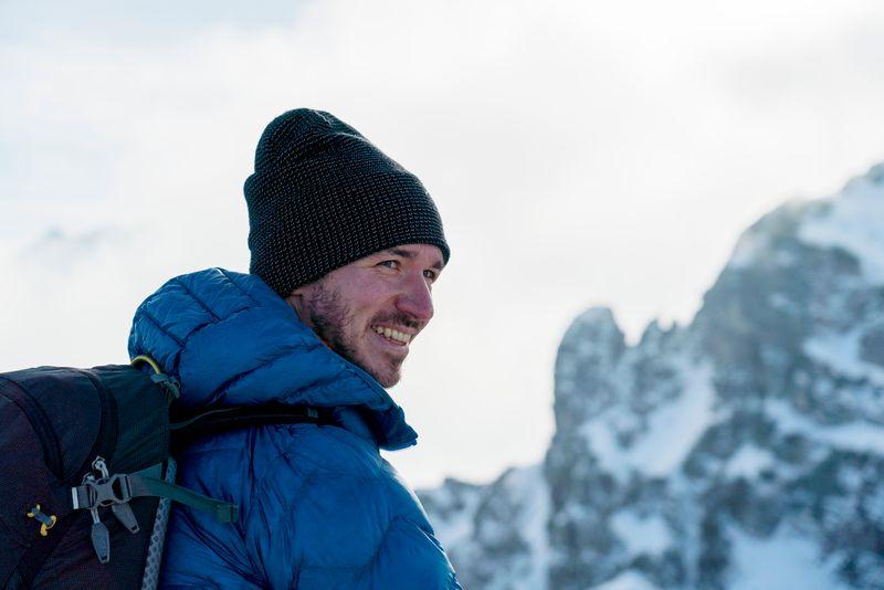 """Ein """"Bergfex"""", wie er im Buche steht: """"Meine Eltern haben uns schon als kleine Kinder mit auf die Berge und in die Natur genommen"""", sagt Felix Neureuther, der Sohn von Rosi Mittermaier und Christian Neureuther."""