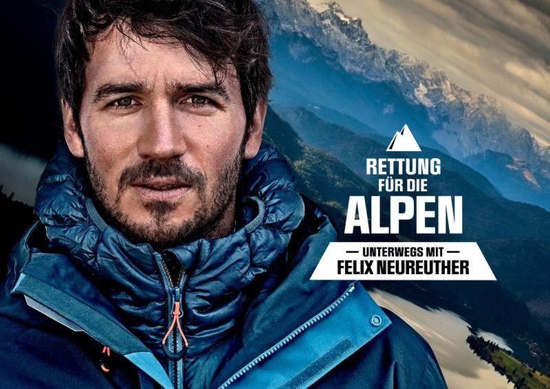 """""""Als Skirennfahrer war ich von Klein auf auch in der Welt der Gletscher unterwegs. Mit Schrecken stelle ich heute fest, was sich in dieser relativ kurzen Zeit mit den Gletschern und Skigebieten ereignet hat"""", so Felix Neureuther. """"Nirgendwo wird einem die Dramatik der Erderwärmung klarer als am Rückgang der Gletscher."""""""