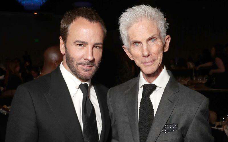 Tom Ford (links) und Richard Buckley waren seit Ende der 1980-er ein Paar.