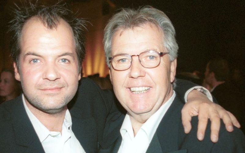 Gero Erhardt (rechts) und seinen Sohn, den Schauspieler Marek Erhardt, verband die Liebe zum Film.