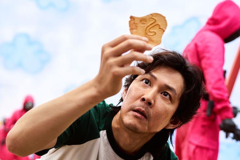 """Die südkoreanische Netflixserie """"Squid Game"""" wurde bislang von 111 Millionen Accounts aufgerufen."""