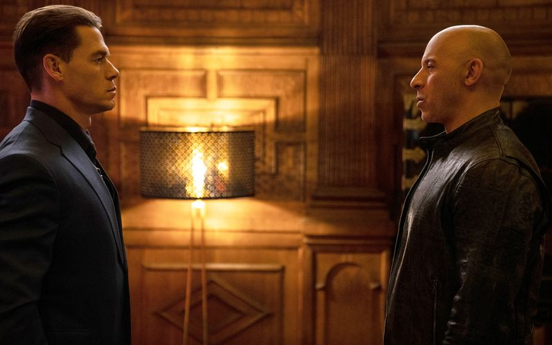 Dom Torettos (Vin Diesel, rechts) Vergangenheit heißt Jakob (John Cena).
