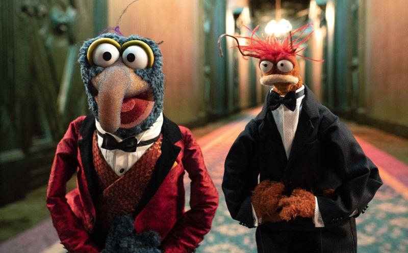 Im ersten Halloween-Special der Muppets erhoffen sich Gonzo (links) und Pepe eine unvergessliche Nacht.