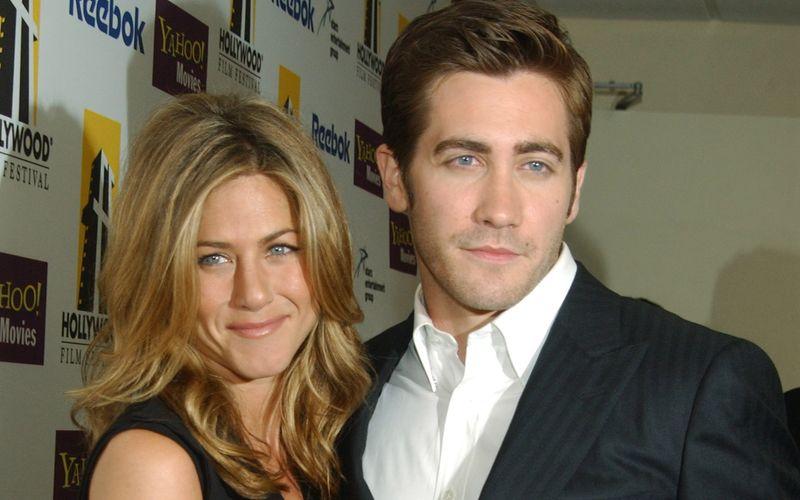 """In einer Szene für """"The Good Girl"""" sollte es zwischen Jake Gyllenhaal und Jennifer Aniston heiß hergehen - für den US-Schauspieler keine einfache Situation."""