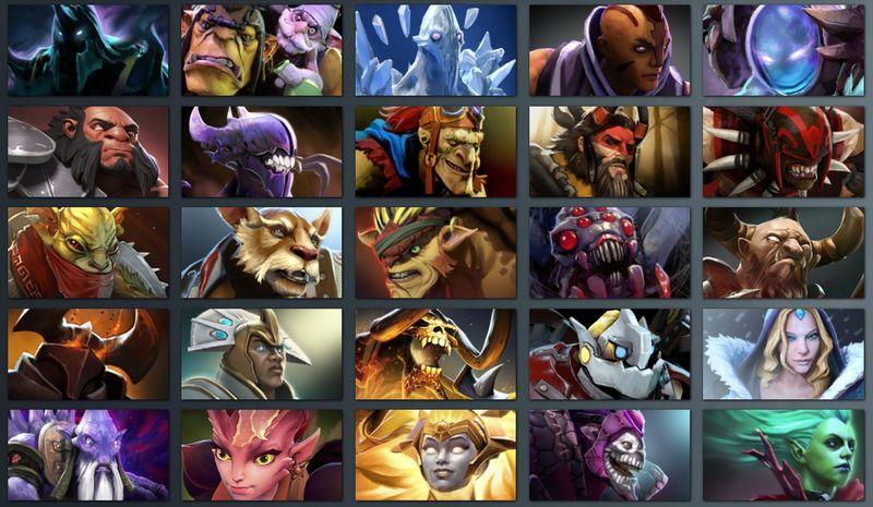 """In """"Dota 2"""" treten die Spieler mit unterschiedlichen Heldenfiguren an."""