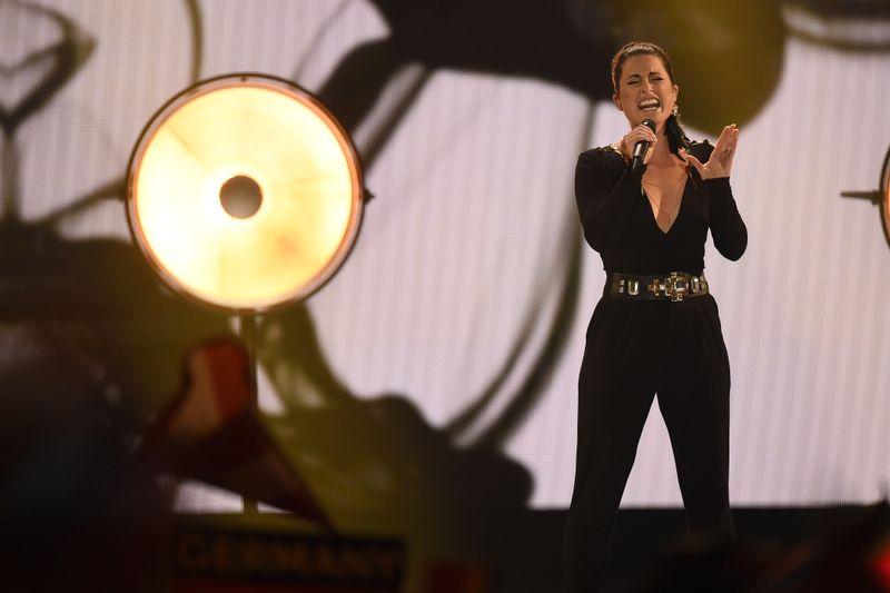 """2015 trat Ann Sophie für Deutschland beim ESC an - und belegte mit ihrem Song """"Black Smoke"""" den letzten Platz."""