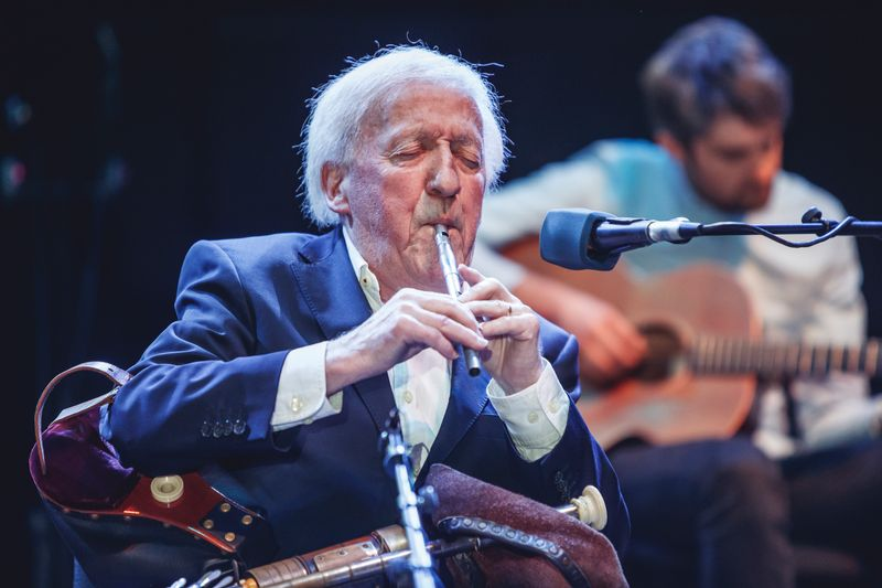 Paddy Moloney im Jahr 2019: Der Musiker ist im Alter von 83 Jahren verstorben.