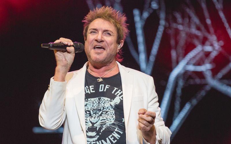 Simon Le Bon bei einem Auftritt vor wenigen Tagen: Der Brite wurde als Sänger der Band Duran Duran bekannt.