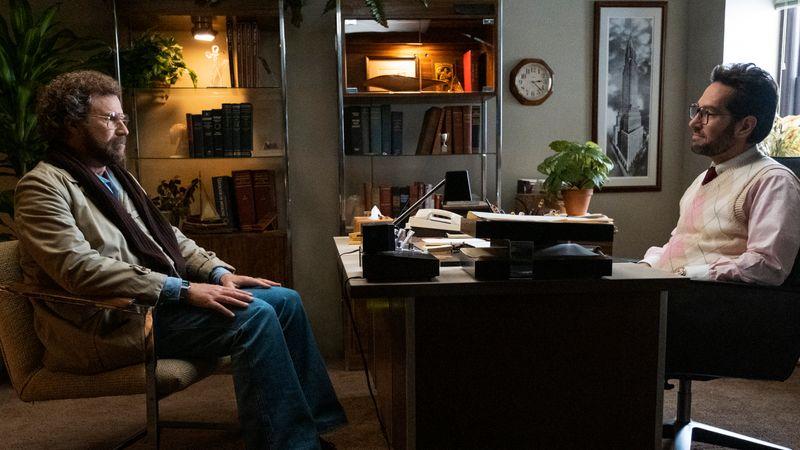 Marty Markowitz (Will Ferrell, links) sucht Hilfe bei Dr. Isaac Herschkopf (Paul Rudd) - und wird immer tiefer in dessen Bann gezogen.