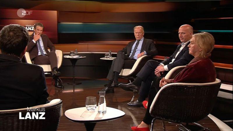 Am Dienstagabend versammelte Markus Lanz (zweiter von links) wieder eine illustre Runde in seiner Sendung. Besonders gut aufgelegt war Elke Heidenreich.
