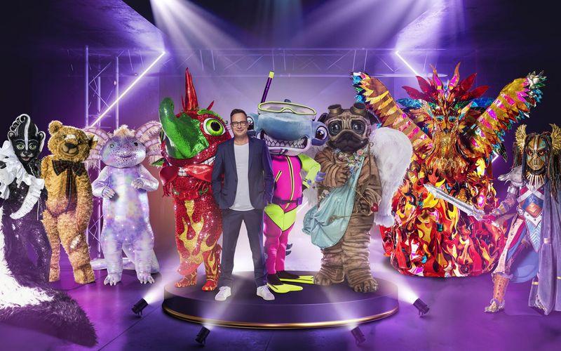 Vom Stinktier bis zur Heldin: Moderator Matthias Opdenhövel darf auch in diesem Jahr neben irrwitzigen Figuren auf der Bühne stehen.