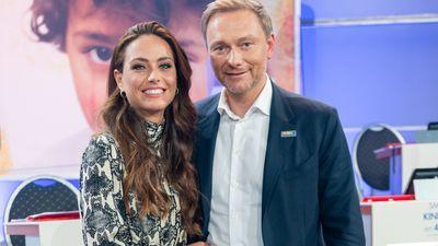 Franca Lehfeldt und Christian Lindner